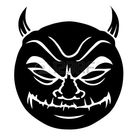 11893339-evil-smiley-in-black